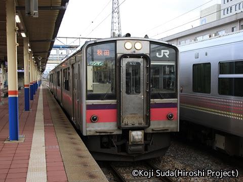 JR東日本 羽越本線 701系(酒田~秋田)