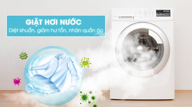 ưu điểm của máy giặt hơi nước