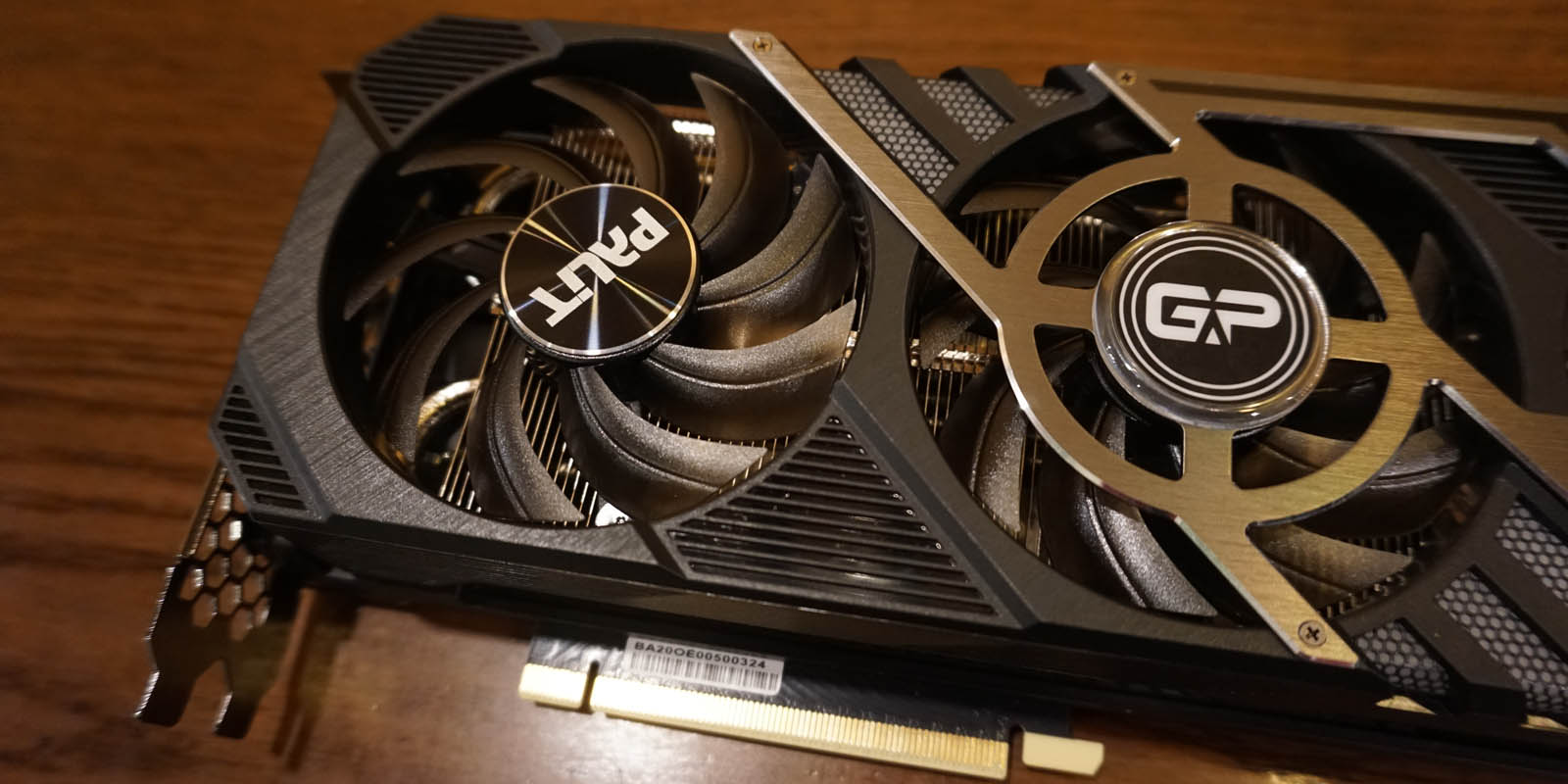 Review Palit GeForce RTX 3070 GamingPro OC - Cooling Fan 01