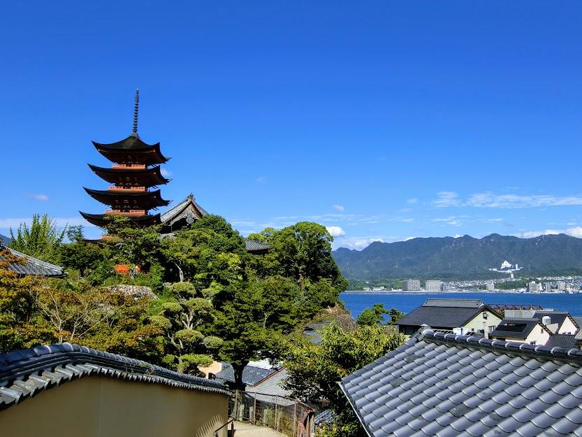 厳島神社五重塔
