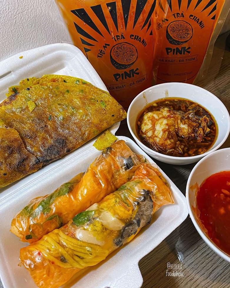 Bánh tráng trộn ở Ngô Tất Tố quận Bình Thạnh.