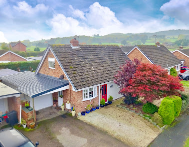 Guilsfield dormer bungalow for sale