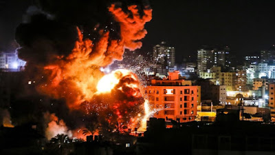 Jalur Gaza Terus Diserang, Ratusan Orang Tewas Termasuk 9 Warga Israel, Jokowi Upayakan ada Perdamaian