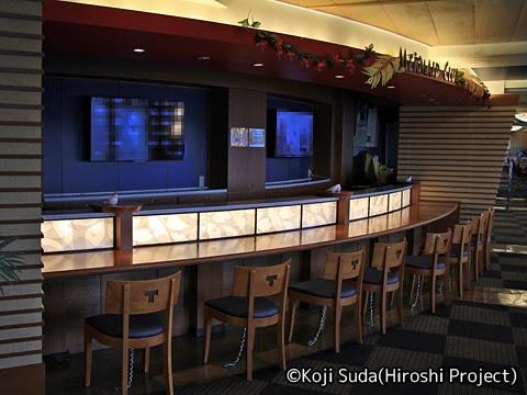 太平洋フェリー「きそ」 6デッキ スタンド「マーメイドクラブ」