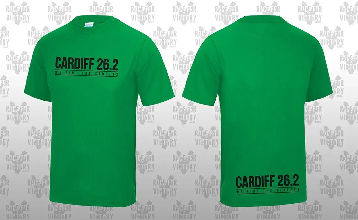 Cardiff Cyclothon - Green Jersey