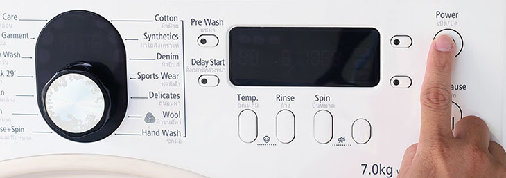 sự cố không giặt trên máy giặt Electrolux