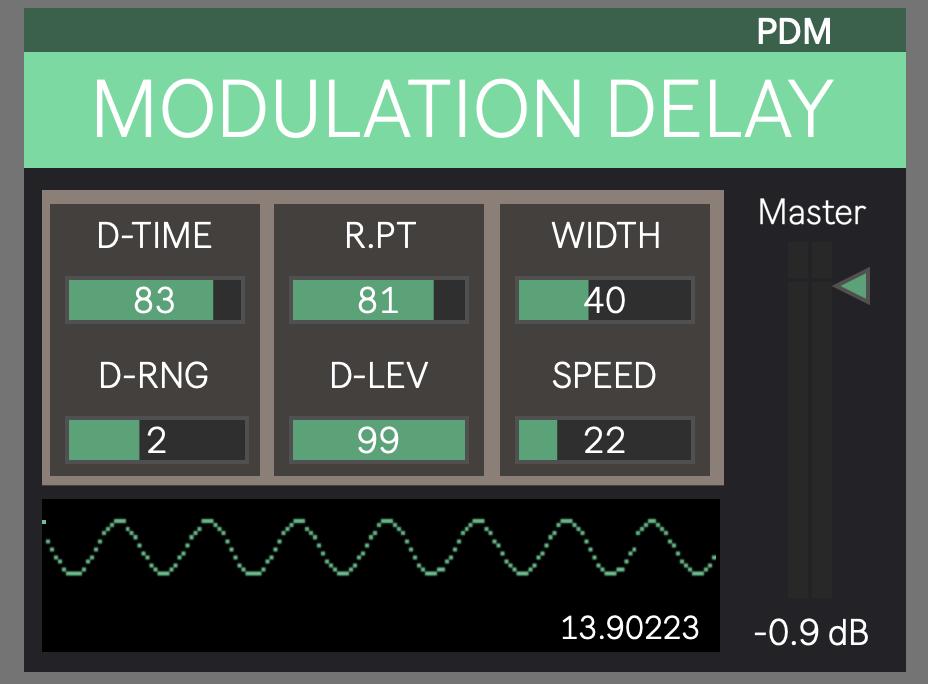 Maxon PDM1 for Ableton Live