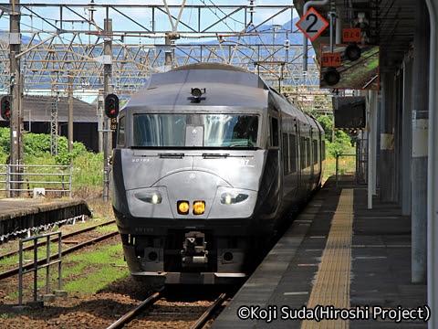 JR九州 787系「きりしま11号」 都城にて