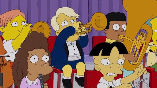 Los Simpsons 30x19 La Niña está en la Banda