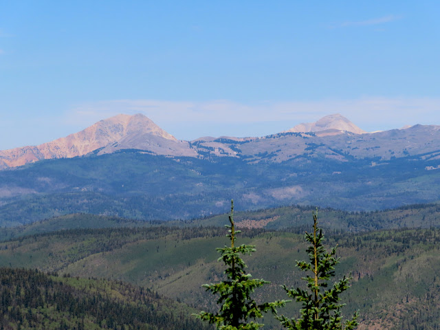 Mount Baldy and Mount Belknap