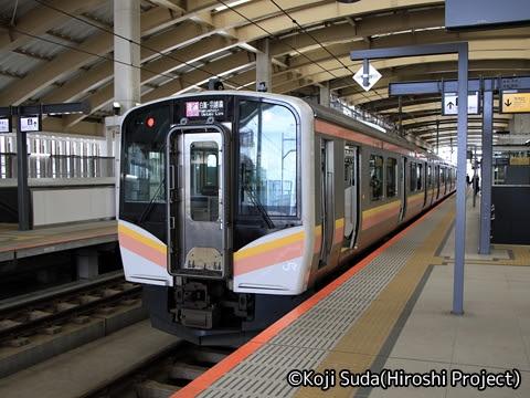 JR東日本 白新線・羽越本線 E129系(新潟~村上)