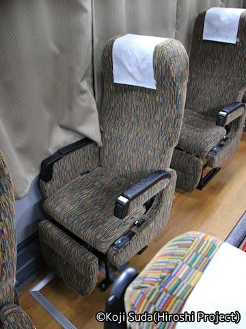 近鉄バス「SORIN号」 2954 シート