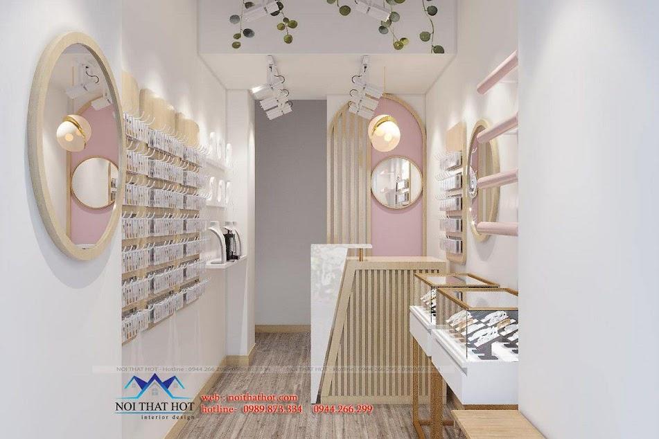 thiết kế shop phụ kiện thời trang