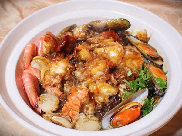 活龍蝦砂鍋煲