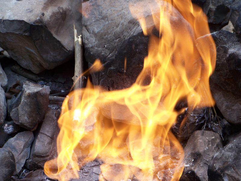 La fontaine ardente du Gua