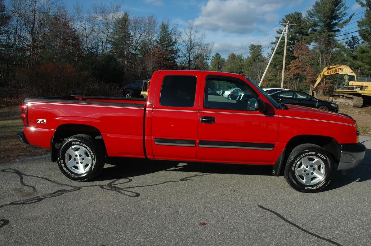 2005 Chevy Silverado LT Red