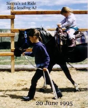 Skye leads AJ, Sierra rides