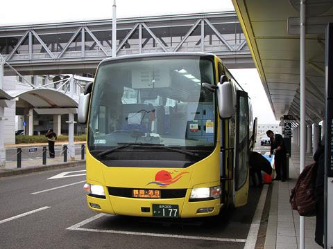 庄内交通「夕陽号」仙台国際空港線 ・177 仙台国際空港改札中