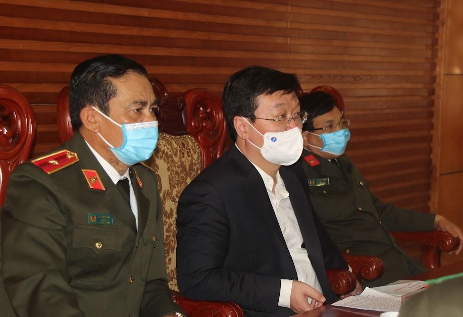 Các đại biểu tham dự tại điểm cầu Nghệ An
