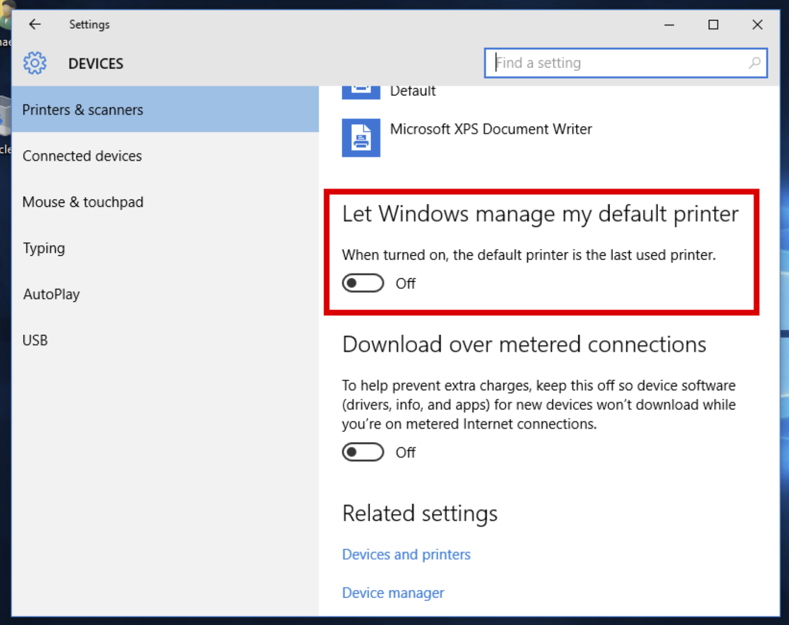 How to Prevent Windows 10 From Changing Default Printer Automatically