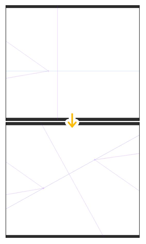 クリスタ:パース定規(透視図法を変更)