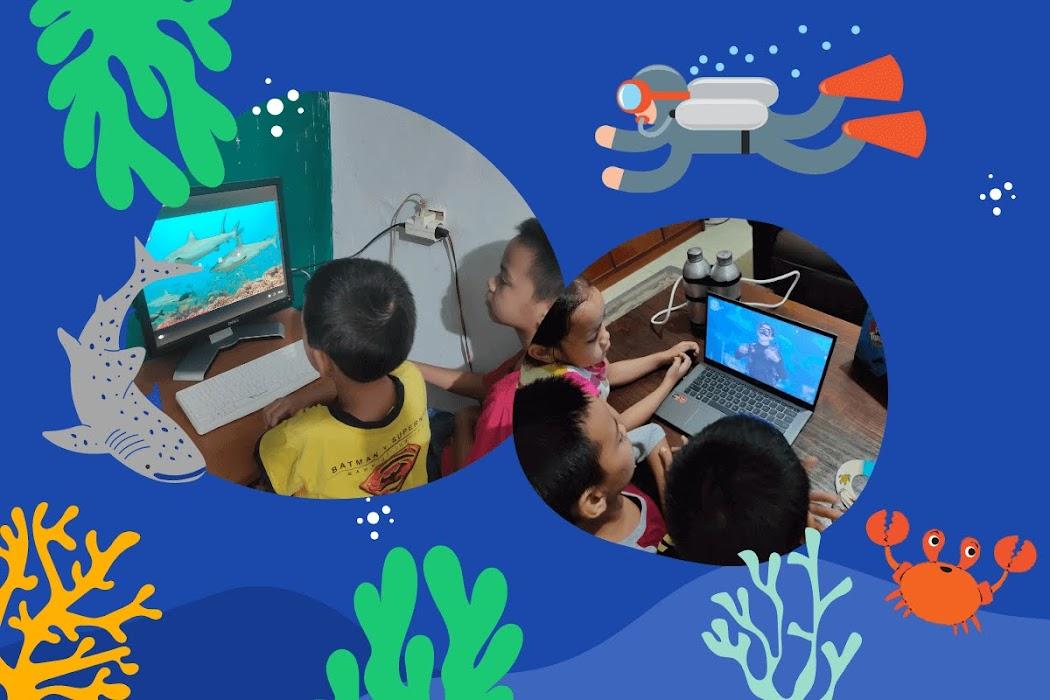 Asyiknya menikmati wisata virtual dunia bawah laut Seaventure Paddle Pop