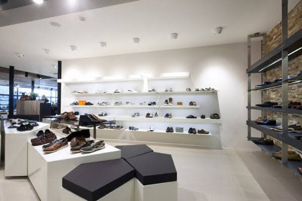 kệ trưng bày giày