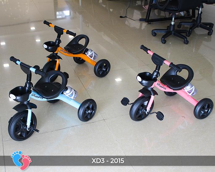 Xe đạp trẻ em 3 bánh XD3-2015 1