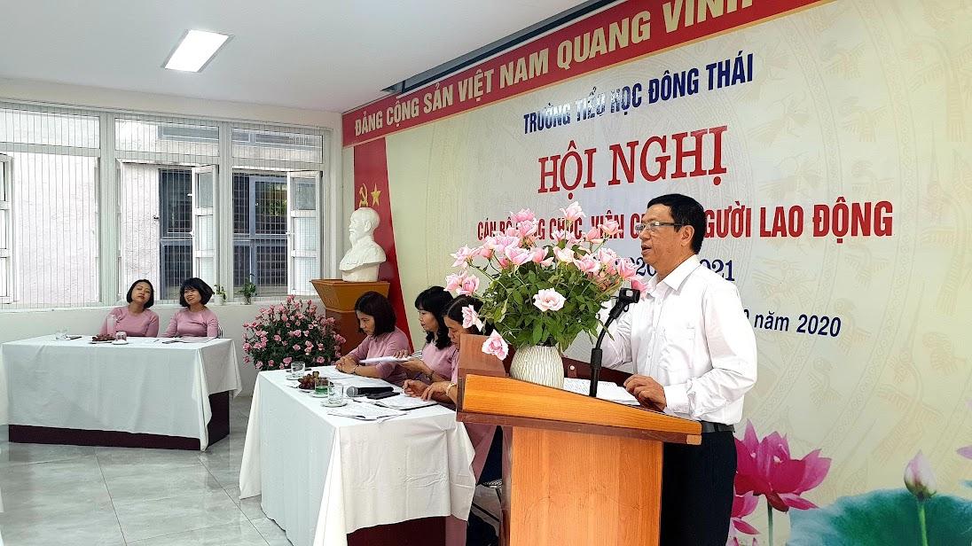 Đ/c Nguyễn Văn Vinh phát biểu chỉ đạo tại Hội nghị