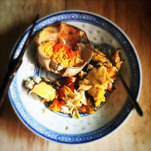 Chinese, recipe, Crab, Sauce, Noodles,  蟹肉醬, 麵