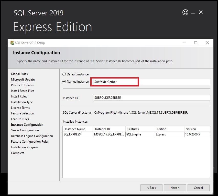 Cách Tạo Subfolder Gerber Accumark V10-V11-V12-V13 Sử Dụng SQL Server 15