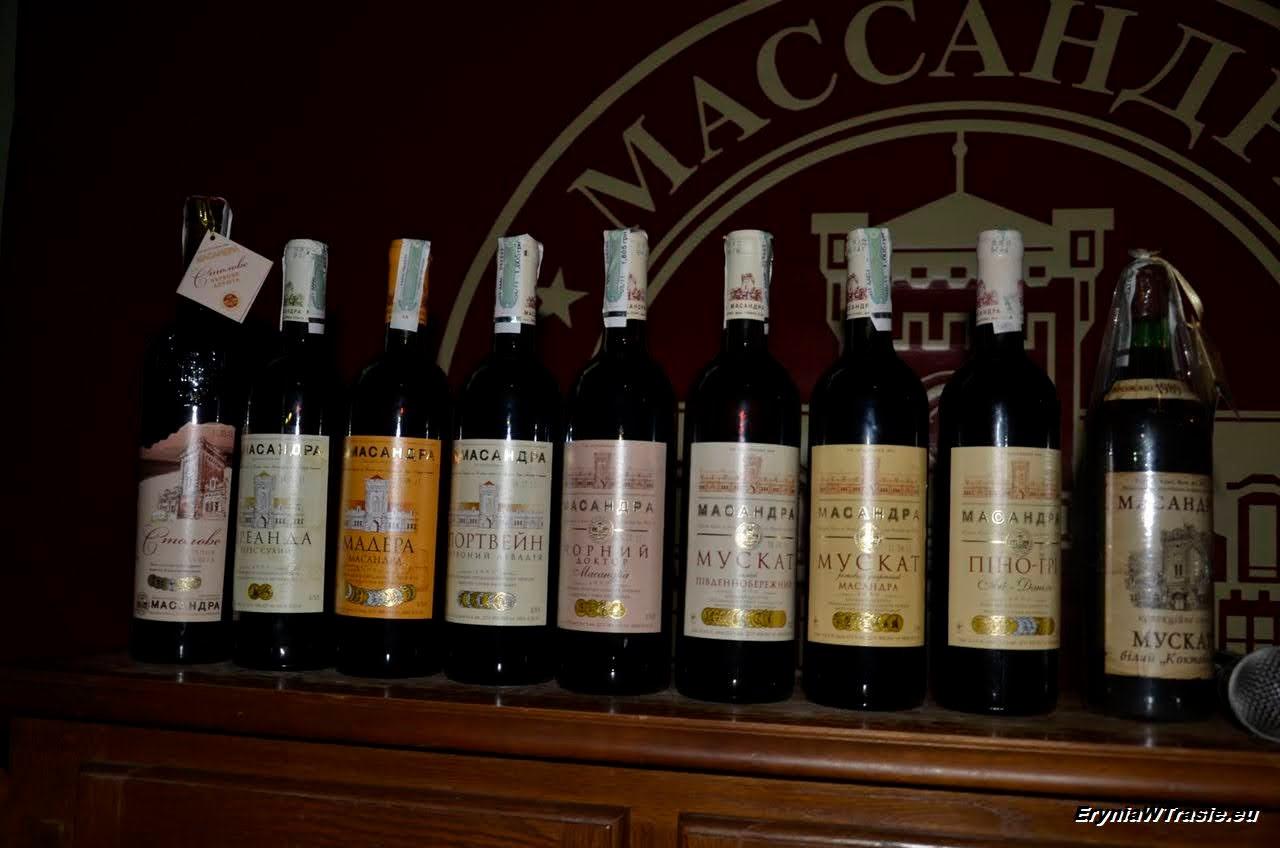 wina massandryjskie