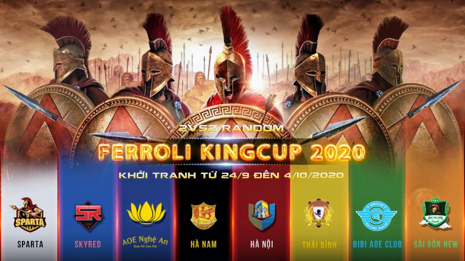Thông báo về giải đấu AoE Ferroli King Cup 2020: Đi tìm cặp đôi vô đối của cộng đồng AoE Việt Nam