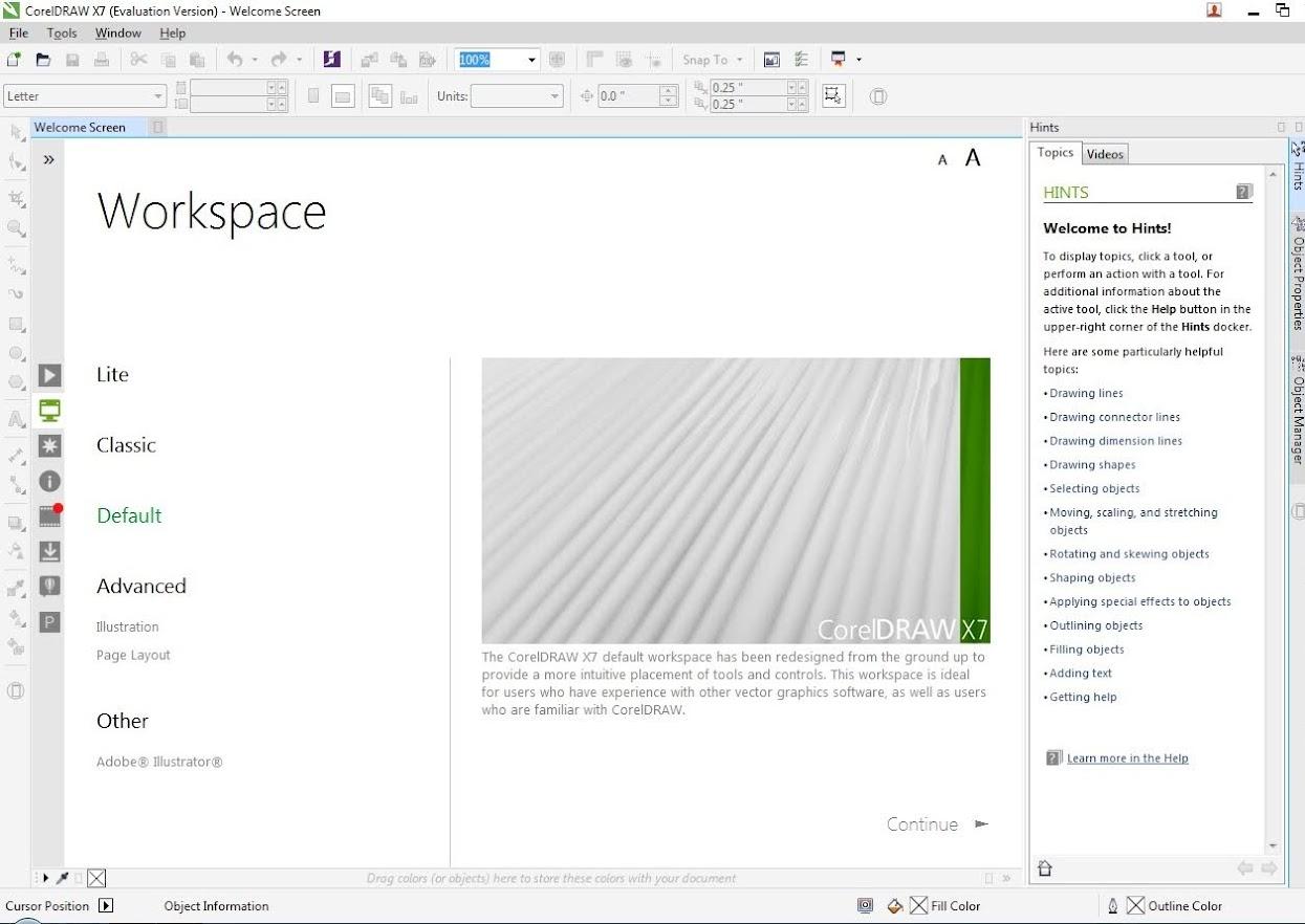 CorelDRAW Graphics Suite X7 Hướng Dẫn Cài Đầy Đủ 32bit-64bit 15
