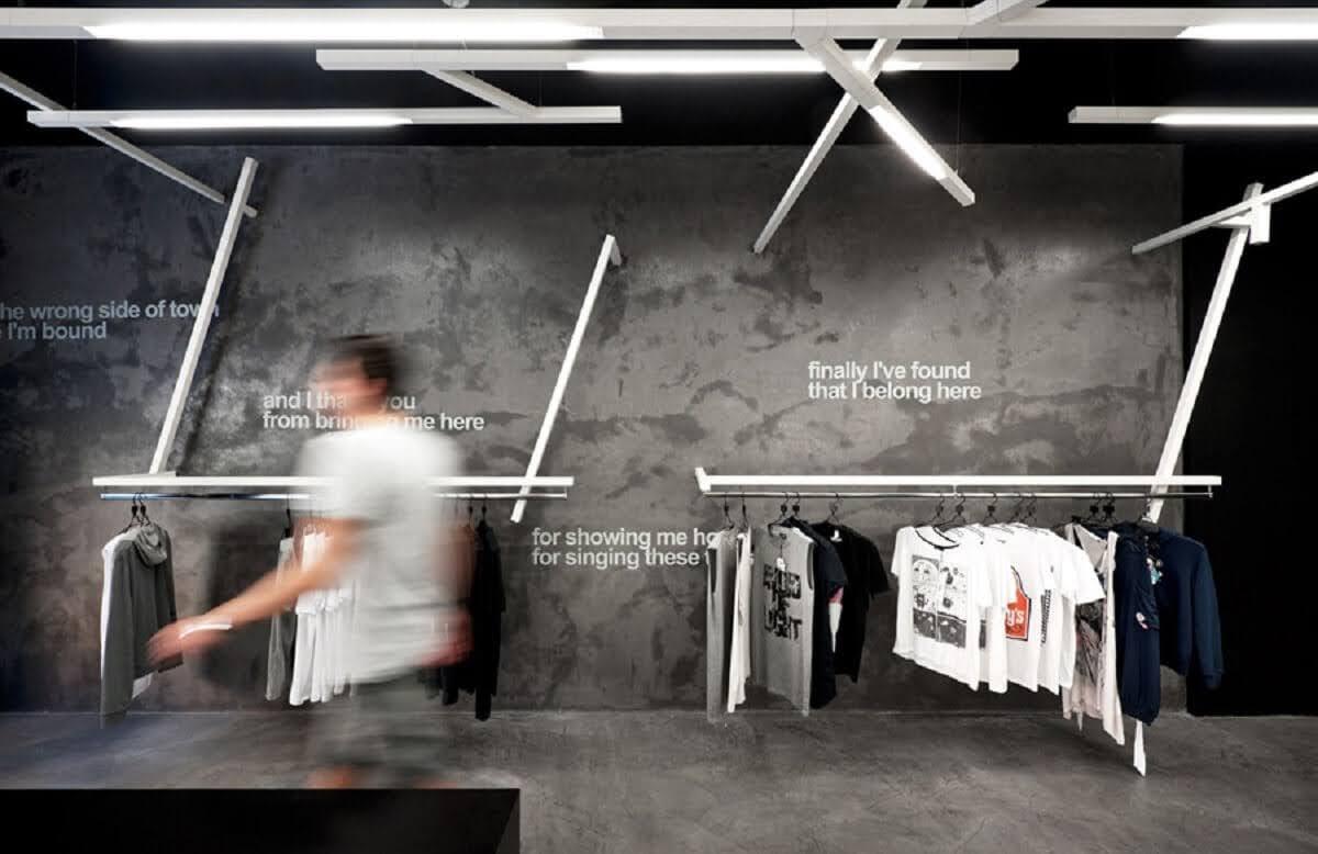 tường sơn giả bê tông
