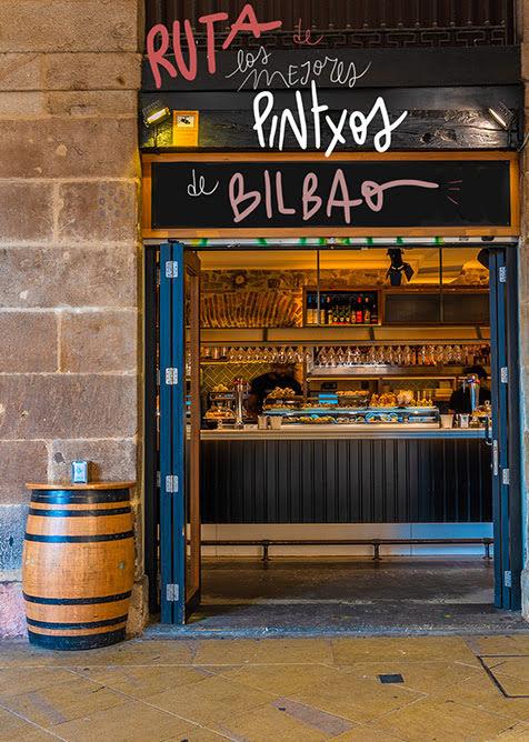 ruta de pintxos en Bilbao