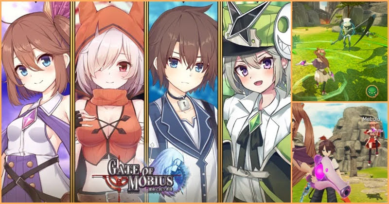 Gate Of Mobius เกมมือถือ Action RPG เปิดบริการแล้ว
