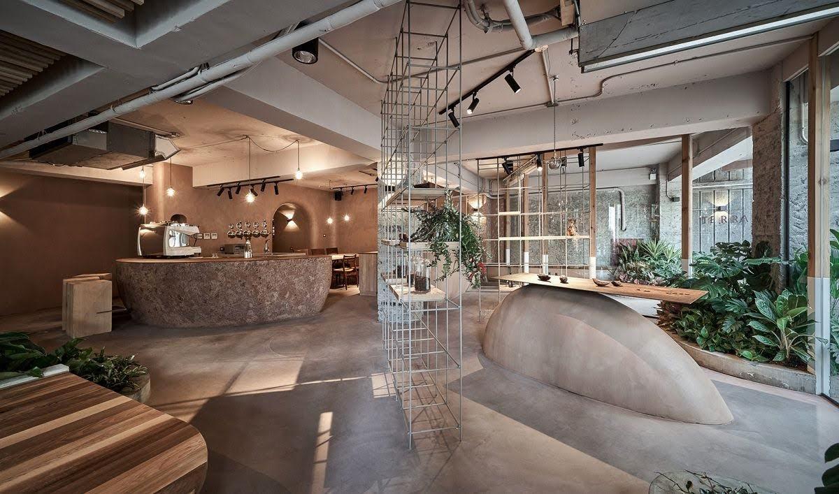 thiết kế quán bar độc đáo