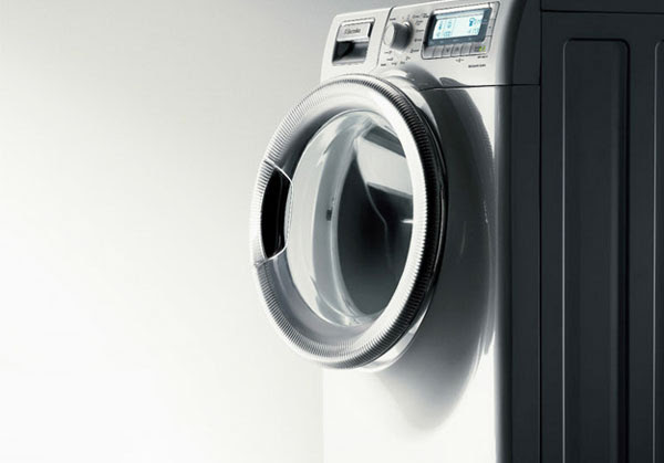 Mặt trước của máy giặt