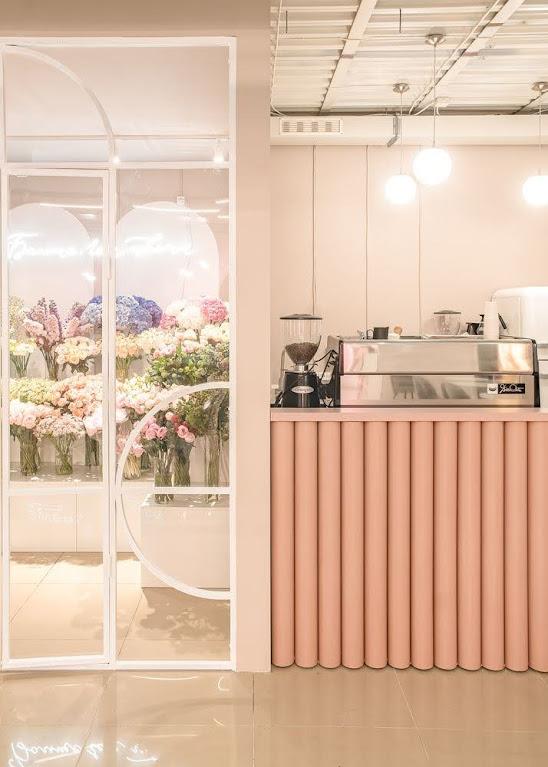 thiết kế shop hoa
