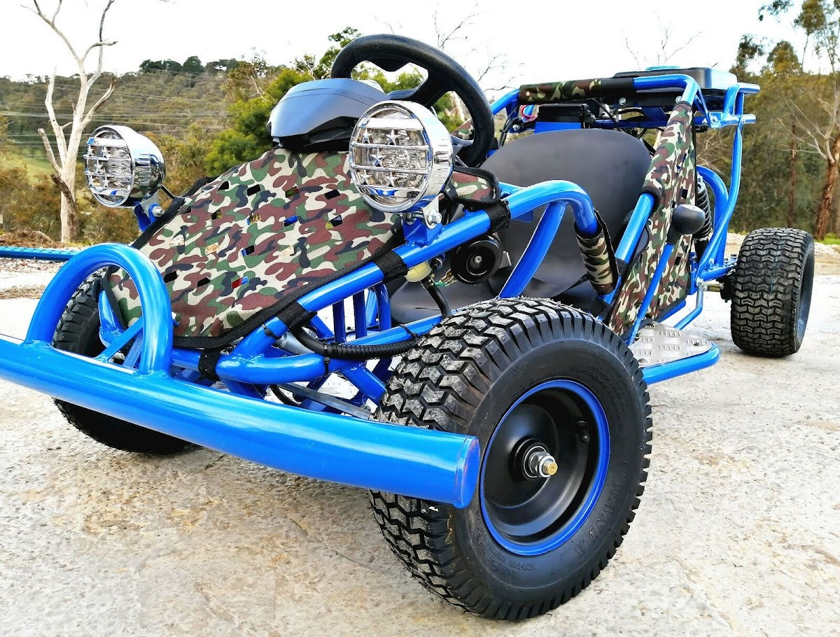 8.4HP 125cc Kids Single Seat Go Cart Buggy