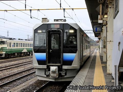 JR東日本 五能線 GV-E400系 東能代にて_02