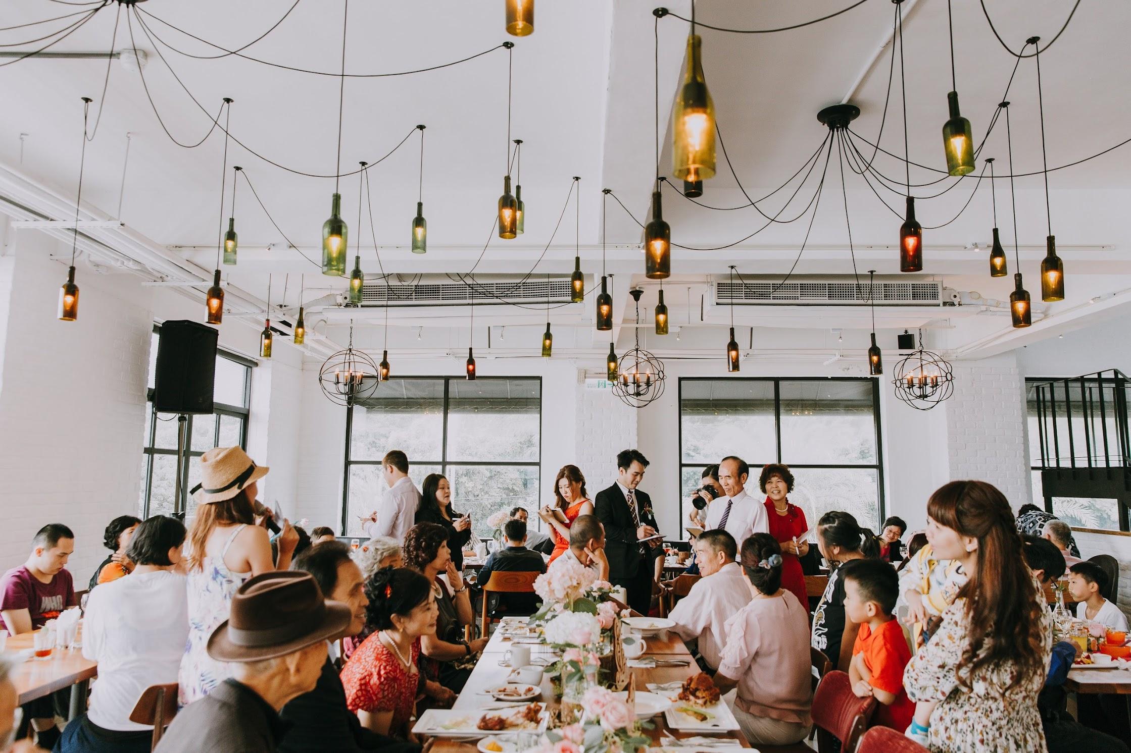 淡水 La Villa的小型婚禮派對