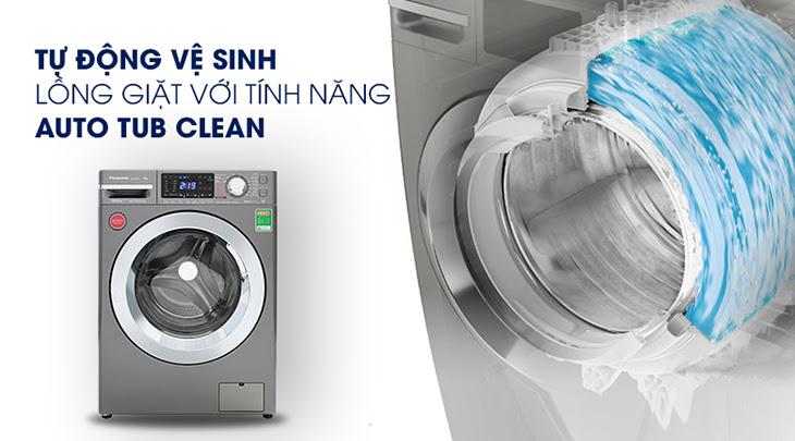 tự động vệ sinh lồng giặt