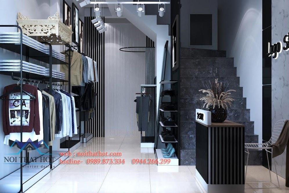 Thiết kế shop thời trang jean