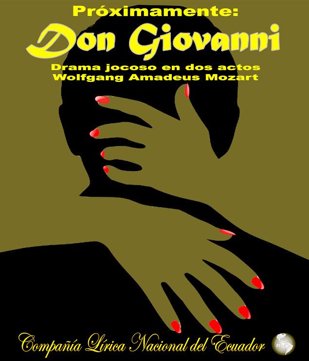 Don Giovanni COLINEC MISIONARTE AFICHE