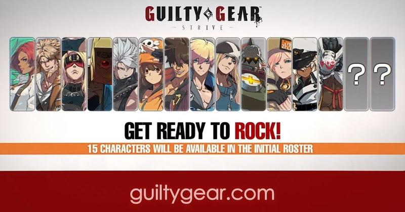 GUILTY GEAR –STRIVE- ประกาศวางจำหน่าย เมษายนปีหน้า!