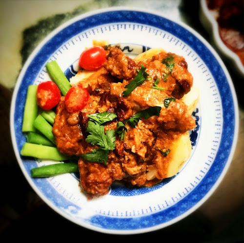 非洲雞,  澳門, macau, macanese, african, chicken, recipe, galinha a africana