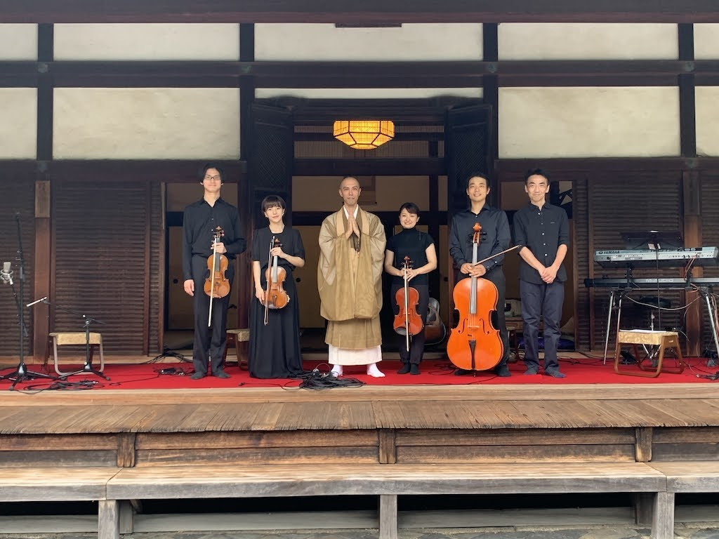 藥師寺寬邦  ( 薬師寺寛邦 )京都 一休寺 挑戰首次直播 送上〈大悲呪〉為大家祈福