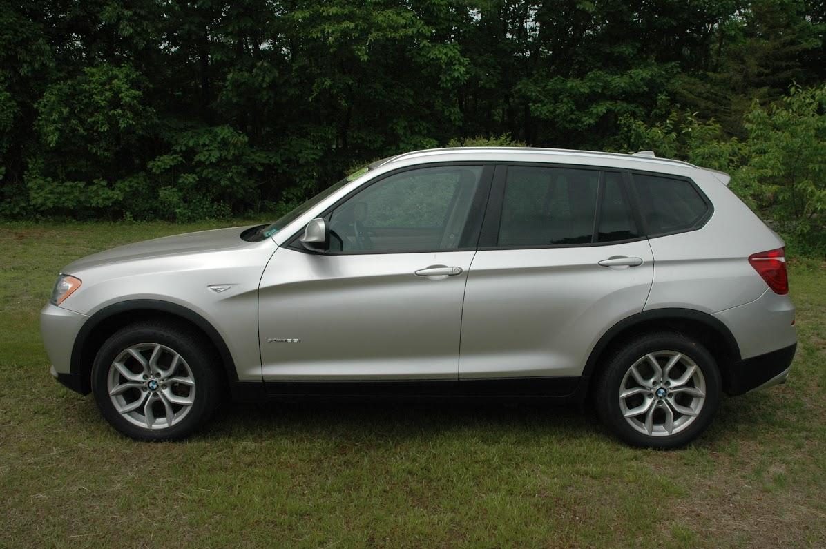 2013 BMW X3 35i Gold